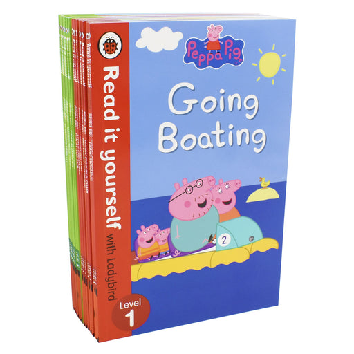 Early Learning Peppa Pig Read it yourself with Ladybird 14 Books Level 1& 2 - Ages 5-7 - Paperback 5-7 Ladybird