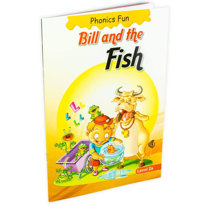 Phonics Fun: Bill and the Fish - Paperback - Gita Nath - Books2Door