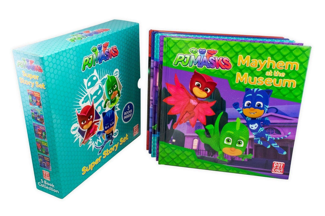 PJ Masks 5 Book Collection Super Story Set - Books2Door