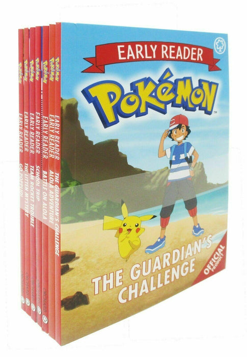 Pokemon Early Reader 7 Book Collection - Books2Door