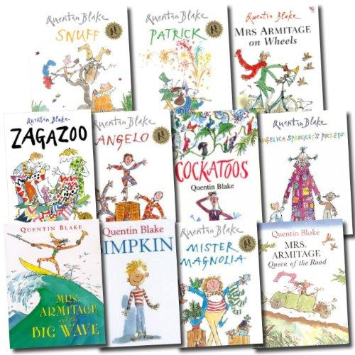 5-7 - Quentin Blake 10 Picture Books Collection Set - Paperback - Age 5-7