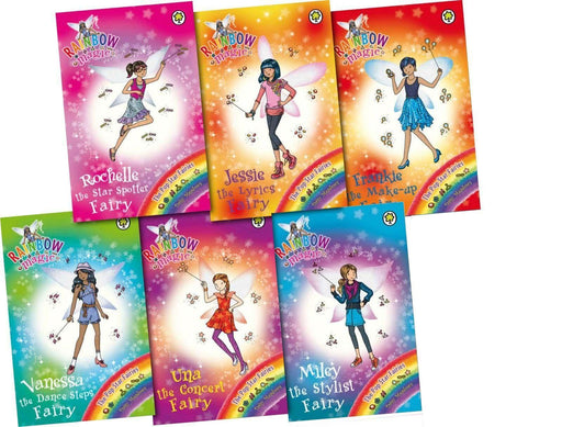 Rainbow Magic Pop Star Fairies 6 Books - Ages 5-7 - Paperback - Daisy Meadows - Books2Door