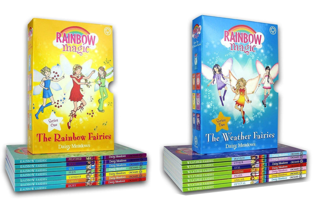 Rainbow Magic Series One and Two - Colour and Weather Fairies - Books2Door