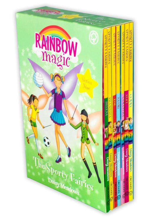 Rainbow Magic Sporty Fairies Collection 57 to 63 - 7 Books - Children's Literature - Paperback - Daisy Meadows - Books2Door