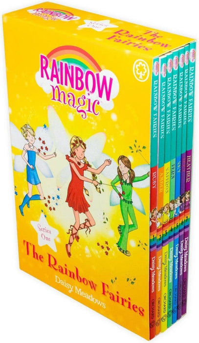 Rainbow Magic The Colour Fairies 7 Book Collection (Series 1) - Children's Literature - Paperback - Daisy Meadows - Books2Door