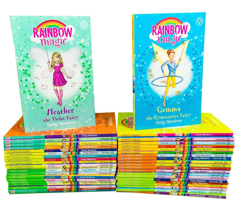 Rainbow Magic The Magical Party and Adventure Series Collection 42 Books Set - Ages 5-7 - Paperback - Daisy Meadows - Books2Door
