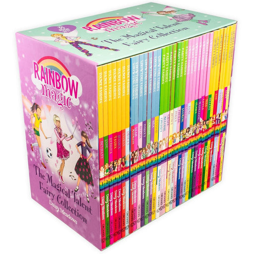 Rainbow Magic The Magical Talent Fairy 35 Book Collection - Ages 5-7 - Paperback - Daisy Meadows - Books2Door
