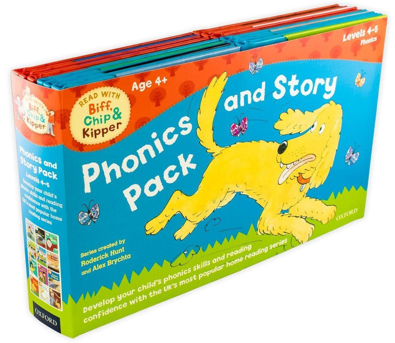 Read with Biff, Chip and Kipper Phonics and Story 12 Book Pack - Books2Door