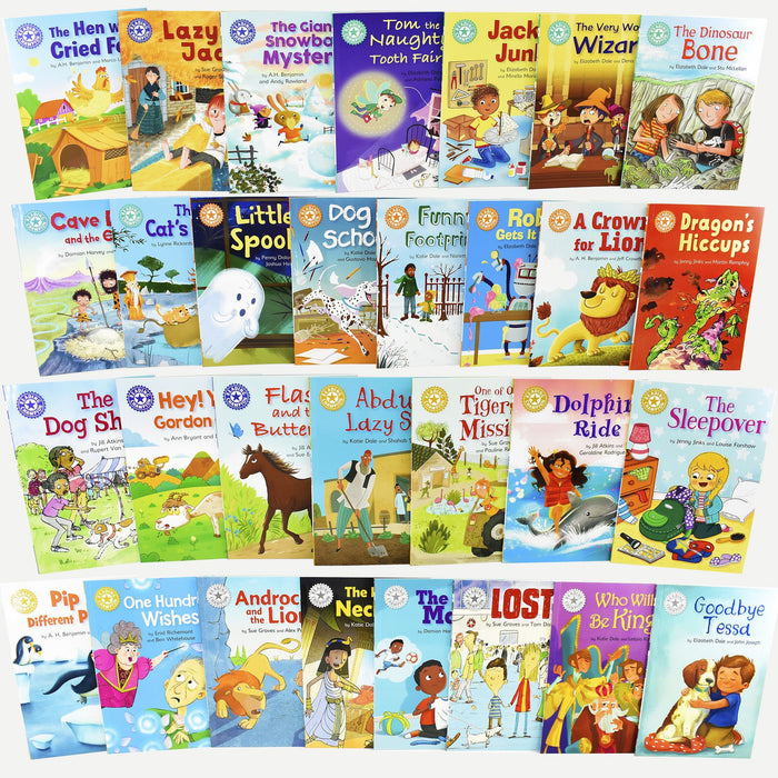 Reading Champions Developing Readers 30 Book Collection - Ages 5-7 - Paperback - Books2Door