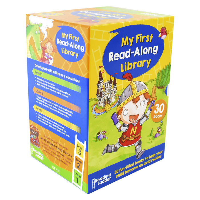 5-7 - Reading Ladder My First Read-Along Library 30 Books Box Set - Ages 5-7 - Paperback