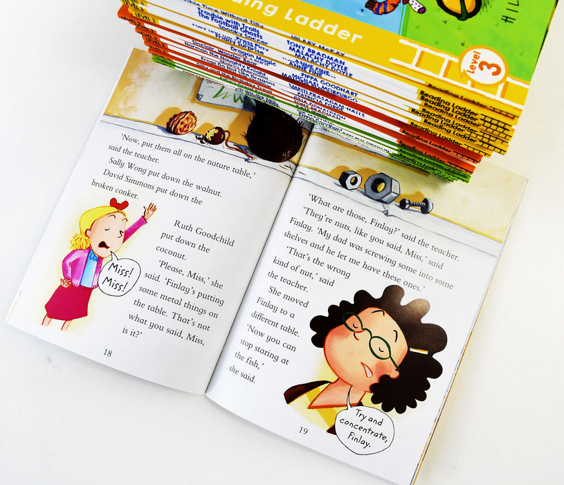 Reading Ladder My First Read-Along Library 30 Books Box Set - Ages 5-7 - Paperback 5-7 Dean