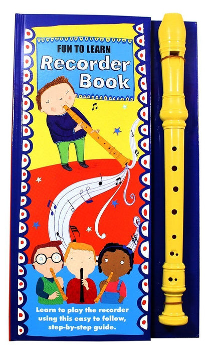 Recorder Book: Fun to Learn: Recorder Learning Book - Includes Recorder - Books2Door