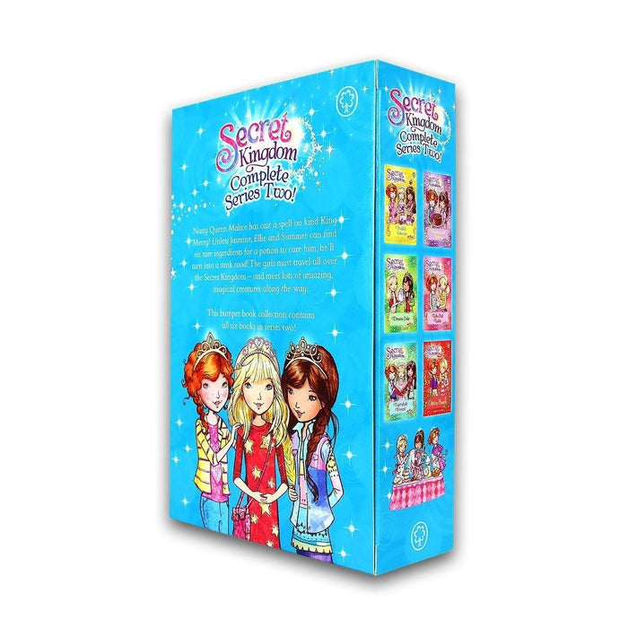 Secret Kingdom Series 2 - 6 Books Collection - Ages 5 -7 - Paperback - Rosie Banks - Books2Door