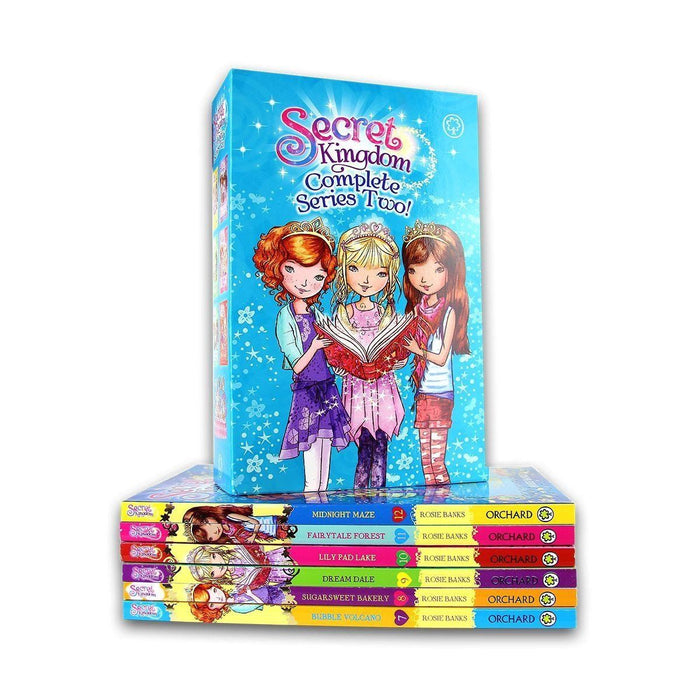 Secret Kingdom Series 2 - 6 Books Collection - Ages 5 -7 - Paperback - Rosie Banks 5-7 Orchard