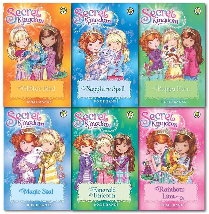 Secret Kingdom Series 4 Collection 6 Books - Fantasy - Paperback - Rosie Banks - Books2Door