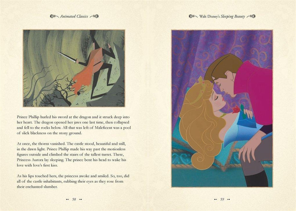 Sleeping Beauty (Disney Animated Classics) - Ages 5-7 - Hardback - Justine Korman 5-7 Studio Press