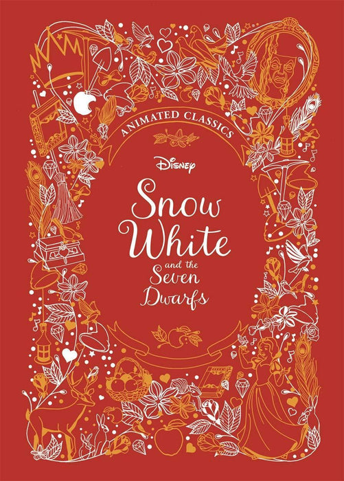 Snow White & the Seven Dwarfs (Disney Animated Classics) - Ages 5-7 - Hardback - Justine Korman - Books2Door
