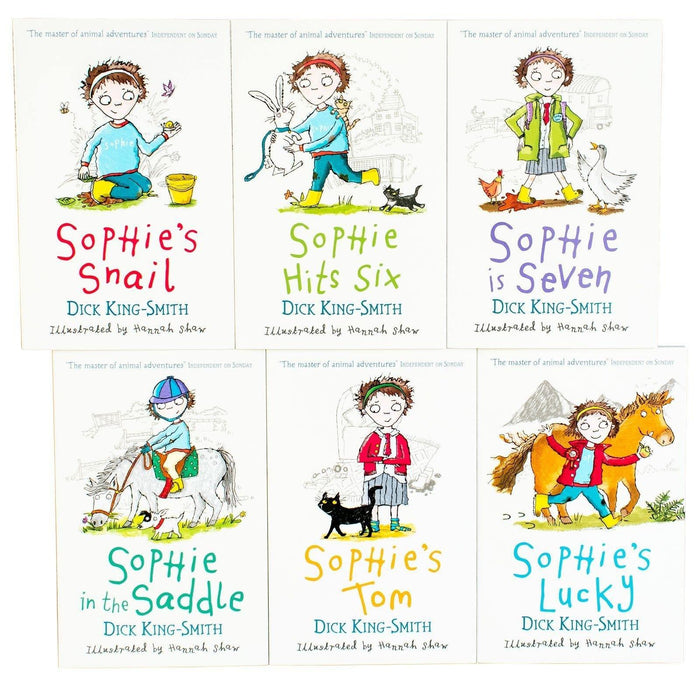 Sophie Stories 6 Book Collection - Ages 5-7 - Paperback - Dick King-Smith - Books2Door
