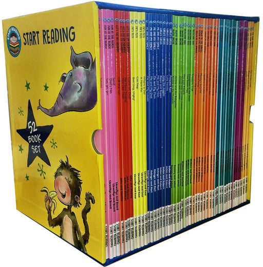 Start Reading 52 Books Collection Box Set Level 1 to 9  - Ages 5-7 - Paperback - Wayland - Books2Door