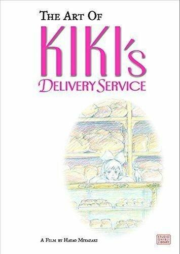 The Art Of Kikis Delivery Service - Ages 5-7 - Hardback - Hayao Miyazaki - Books2Door