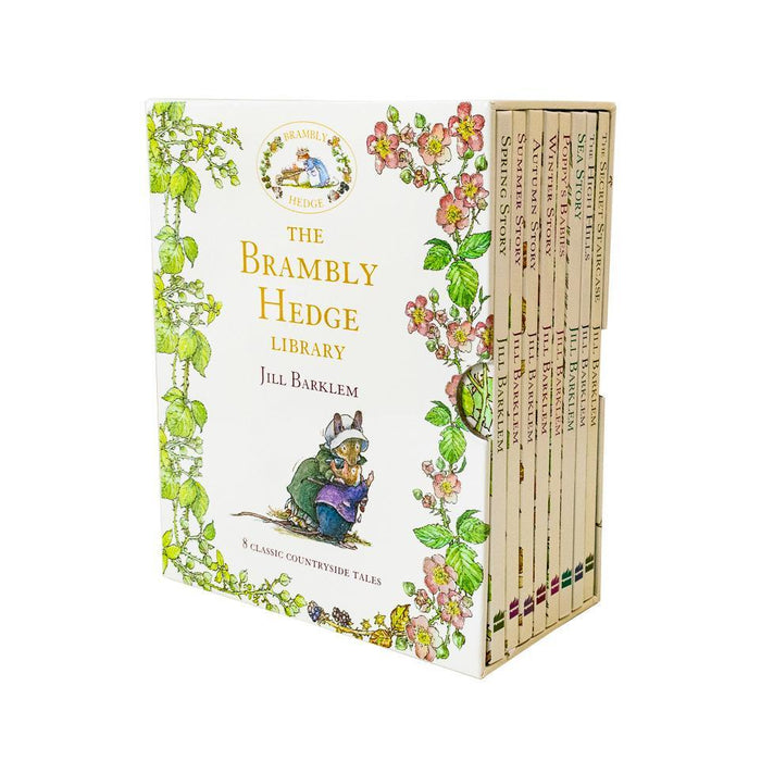 The Brambly Hedge Library Collection 8 Books - Ages 5-7 - Hardback - Jill Barklem - Books2Door