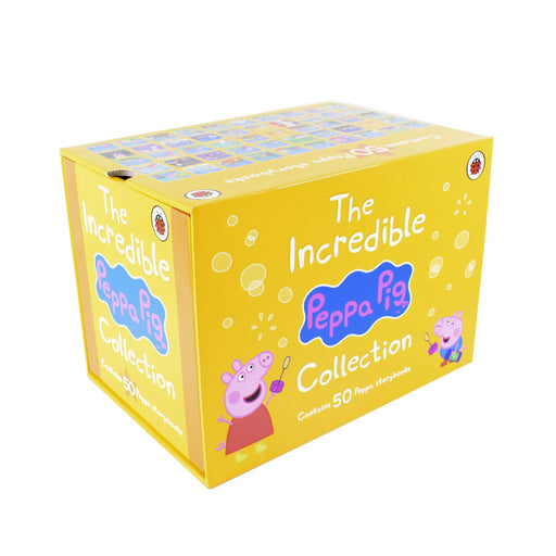 5-7 - The Incredible Peppa Pig Collection 50 Paperbacks Books Box Set - Ages 5-7 -  By Ladybird