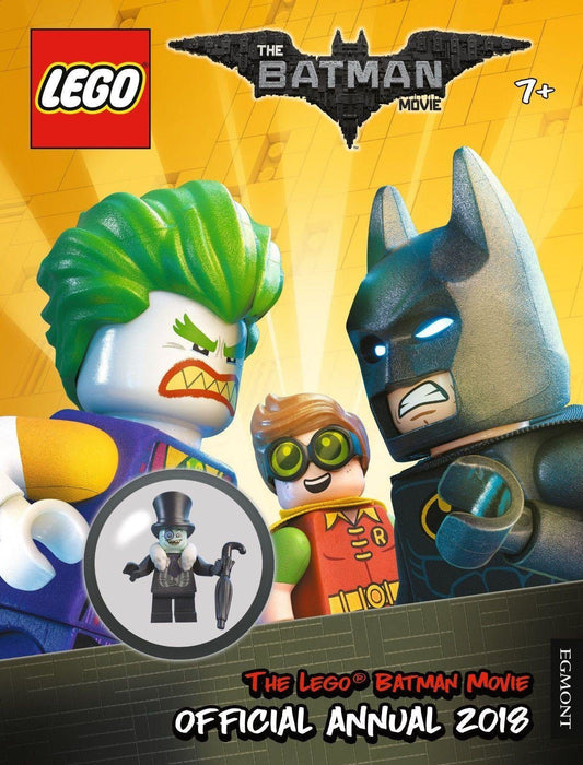 The LEGO® BATMAN MOVIE: Official Annual 2018 - Ages 5-7 - Hardback - Egmont - Books2Door