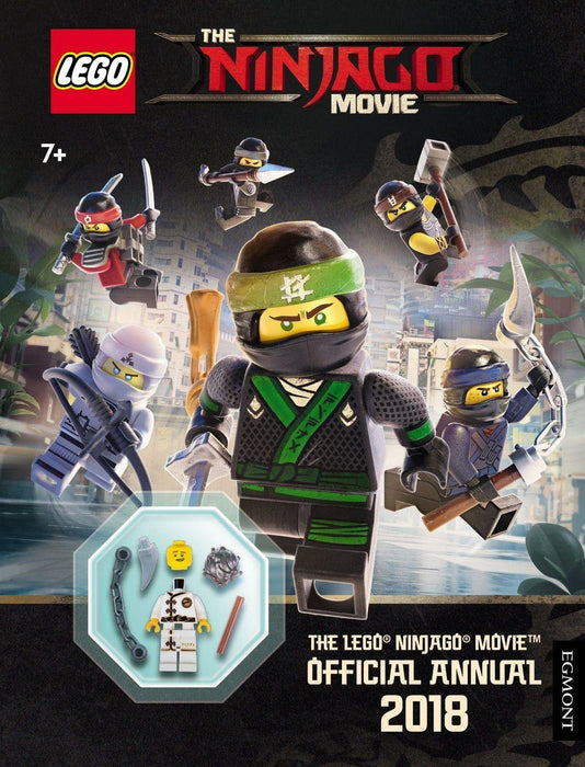 The LEGO ® NINJAGO MOVIE: Official Annual 2018 - Ages 5-7 - Hardback - Egmont - Books2Door