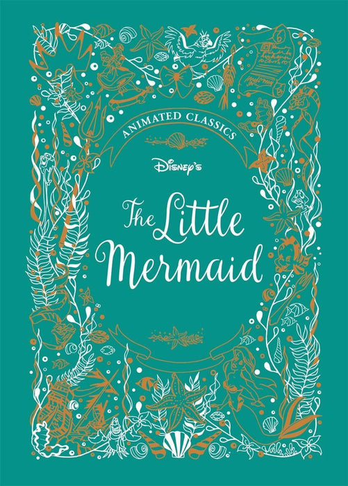 The Little Mermaid (Disney Animated Classics) - Ages 5-7 - Hardback - Justine Korman - Books2Door