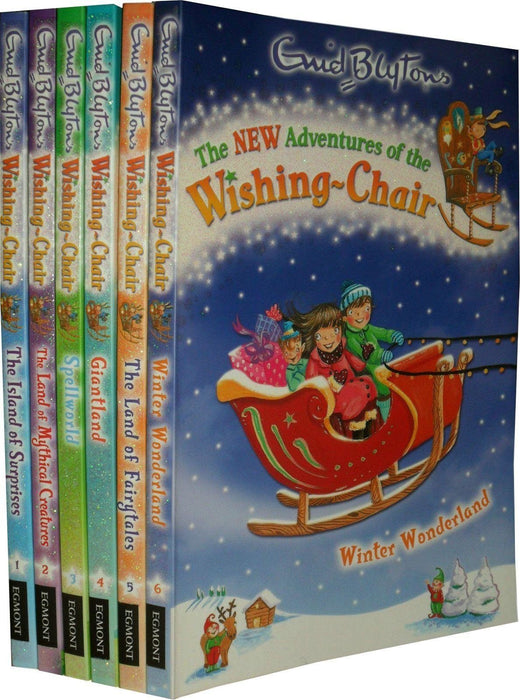 The Wishing Chair 6 Books - Ages 5-7 - Paperback - Enid Blyton 5-7 Egmont