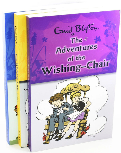 The Wishing Chair Collection 3 Books Set - Ages 5-7 - Paperback - Enid Blyton 5-7 Egmont