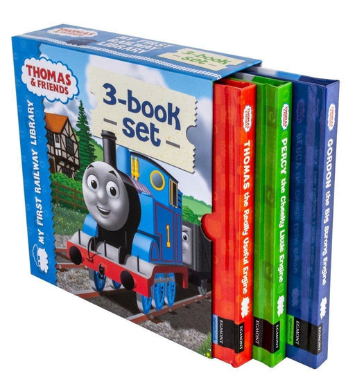 Thomas & Friends My First Railway Library Collection 3 Books Set - Ages 5-7 - Hardback - Britt Allcroft - Books2Door