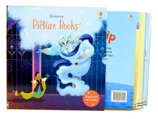 Usborne 12 Classics Picture Books Collection Box Set - Ages 5-7 - Paperback - Books2Door