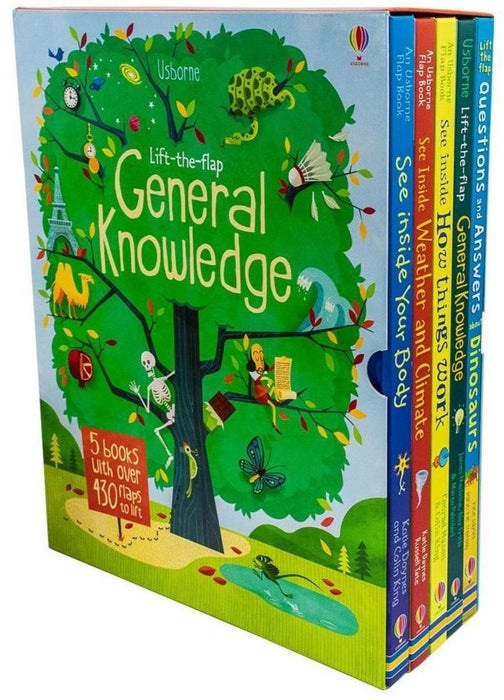 Usborne Lift -The-Flap General Knowledge 5 Books Collection - Ages 5-7 - Board Books - Books2Door