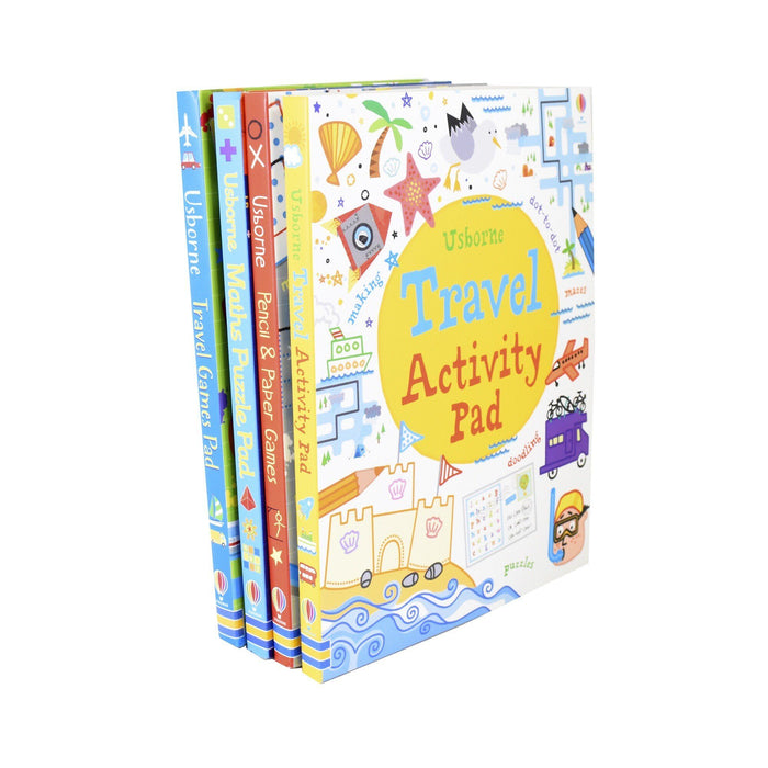 Usborne Travel Activity Pad 4 Books - Ages 5-7 - Paperback 5-7 Usborne
