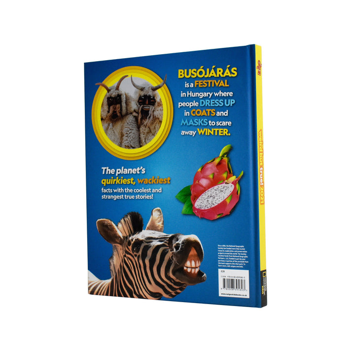 5-7 - Weird But True! 2021 Wild And Wacky Facts & Photos By National Geographic Kids- Hardcover - Age 5-7