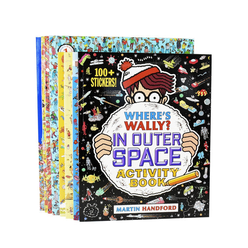5-7 - Wheres Wally Amazing Adventures And Activities 8 Books Bag Collection - Ages 5-7 - Paperback - Martin Handford