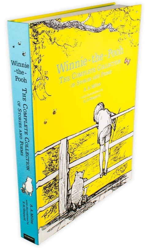Winnie-the-Pooh: The Complete Collection of Stories and Poems - Ages 5-7 - Hardback - A. A. Milne - Books2Door