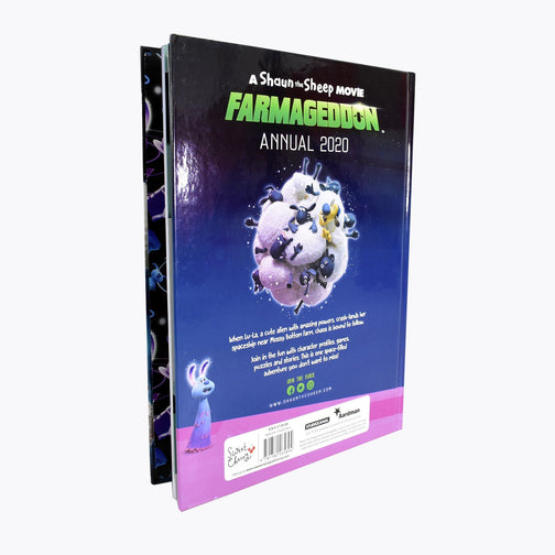 A Shaun the Sheep Movie Farmageddon Annual 2020 Book - Ages 7-9 - Hardback - Sweet Cherry Publishing - Books2Door