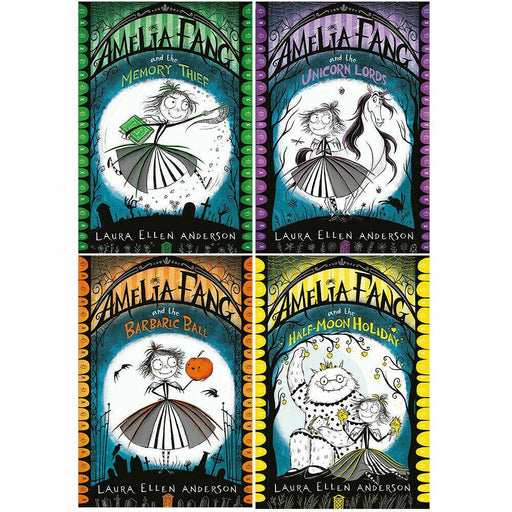 Amelia Fang 4 Books Collection - Ages 7-9 - Paperback - Laura Ellen Anderson - Books2Door