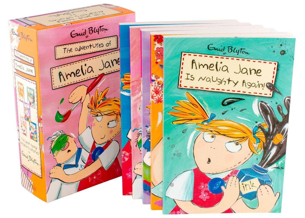 Amelia Jane 5 Books Collection - Ages 7-9 - Paperback - Enid Blyton - Books2Door