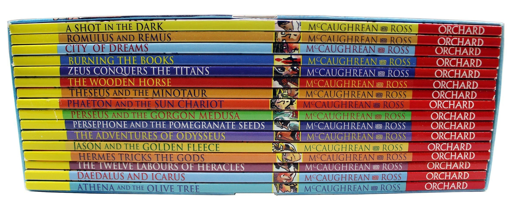Ancient Myths 16 Books Collection - Books2Door