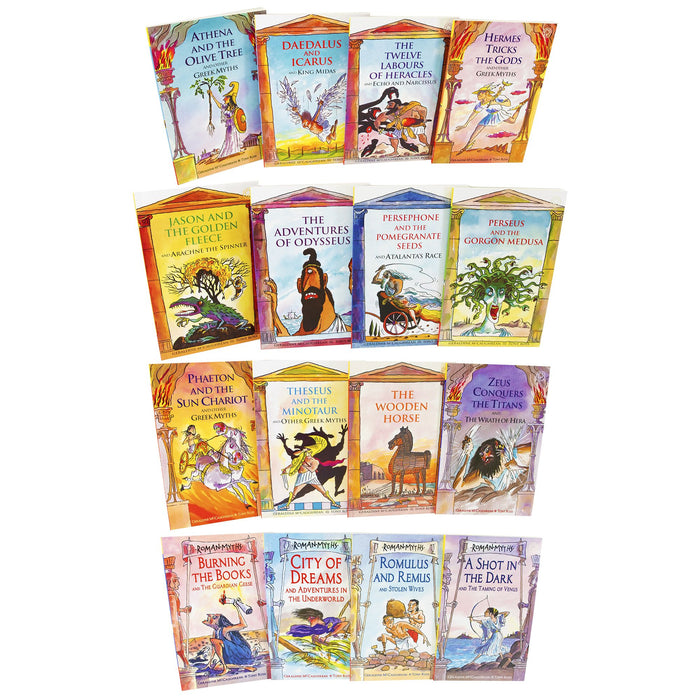 7-9 - Ancient Myths 16 Books Collection - Paperback - Age 7-9