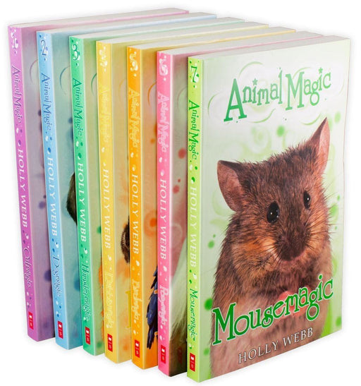 Animal Magic Collection 7 Book Set - Ages 7-9 - Paperback - Holly Webb - Books2Door
