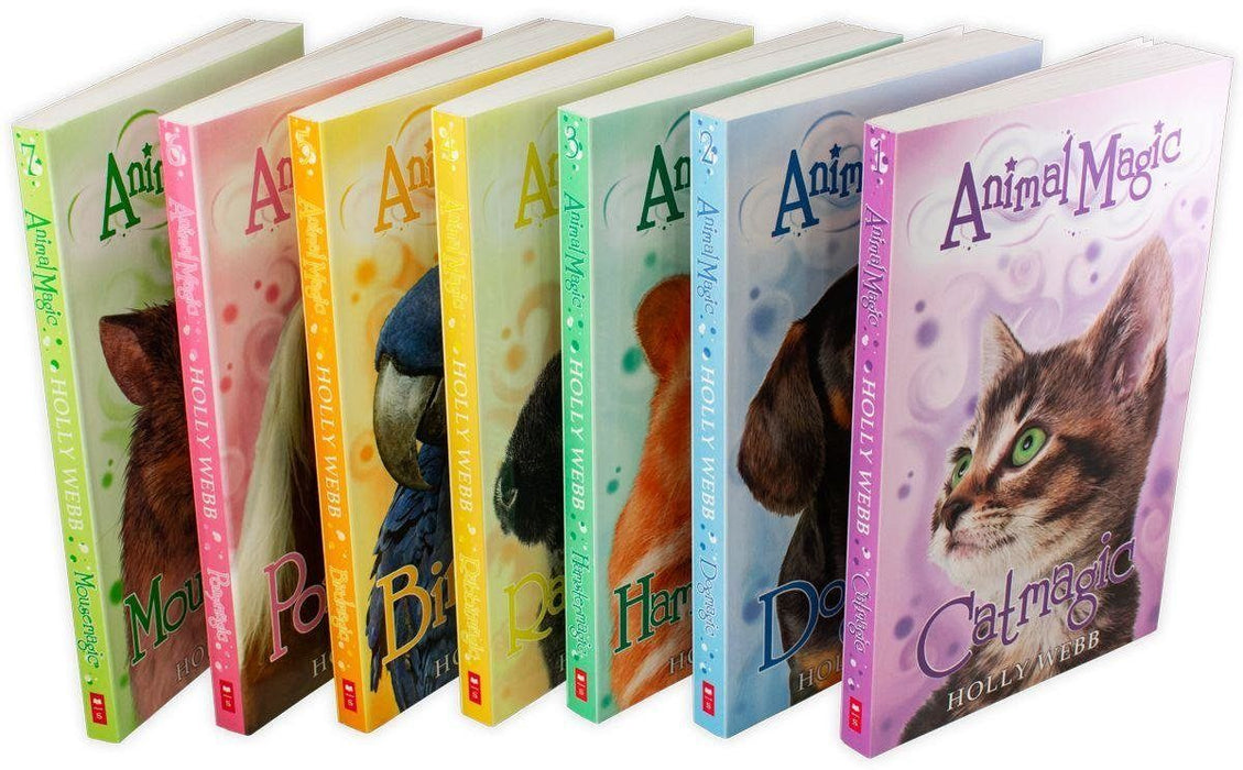 Animal Magic Collection 7 Book Set - Ages 7-9 - Paperback - Holly Webb 7-9 Scholastic