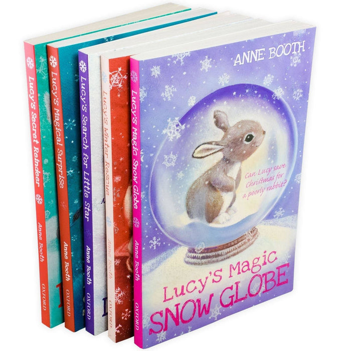 Anne Booth Lucy's 5 Book Collection - Books2Door