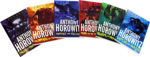 Anthony Horowitz Legends Collection 6 Books Set - Mystery - Paperback - Anthony Horowitz - Books2Door