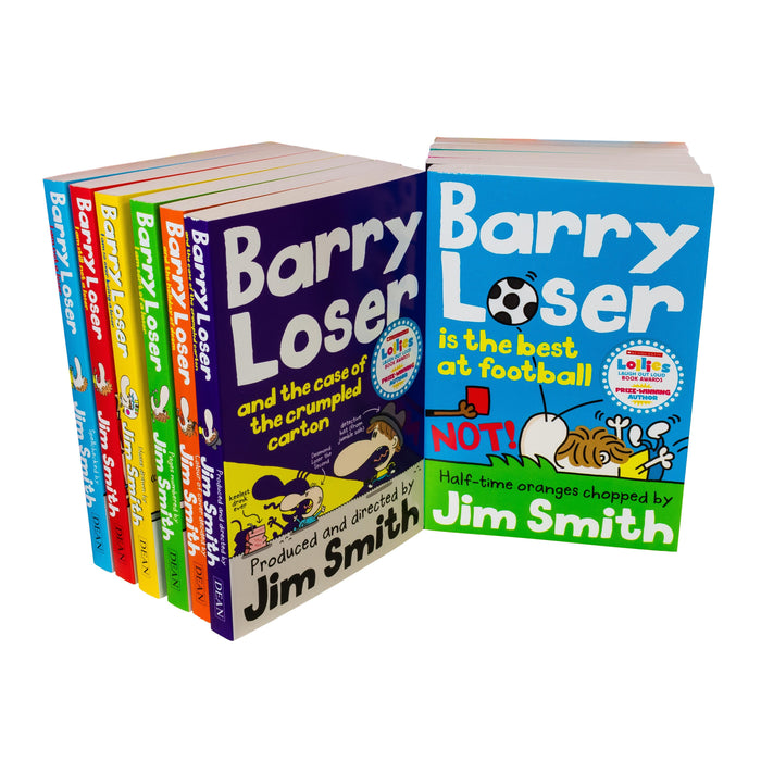 Barry Loser 11 Book Collection - Ages 7-9 - Paperback - Jim Smith - Books2Door