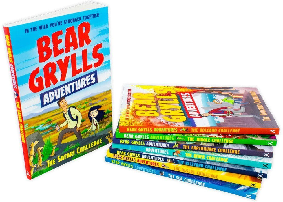 Bear Grylls Adventures 8 Book Collection - Books2Door
