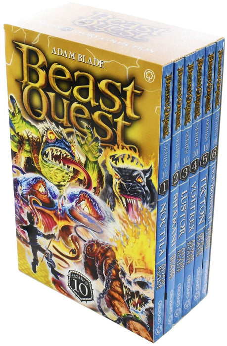 Beast Quest Series 10 Box Set 6 Books Ages 7-9 Paperback By Adam Blade - Books2Door